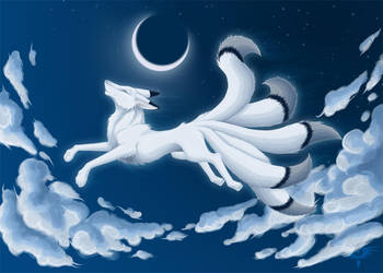 Silver Moon by Bueshang