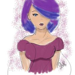 Multicolor Hair by Raiinbolivia