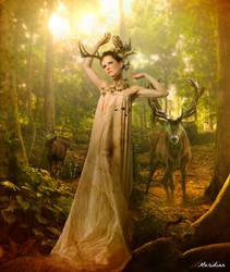 Legendaire deesse by Le-Meridian