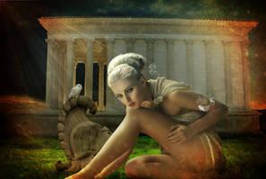 Athena - Deesse de la sagesse by Le-Meridian