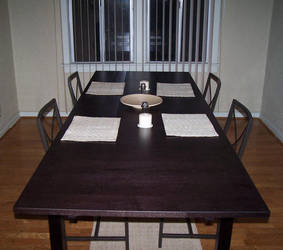 Dining room table by fluffy