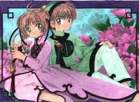Sakura y Shaoran manga by Kamikase-Dey