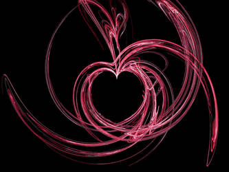 Heart Fractal by thepointgal1057