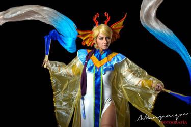 Yui Hongo - Water goddess by Aliceincosplayland