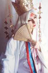 Hinoto - The priestess by Aliceincosplayland