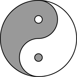 Yin and Yang by Avon-Cornish