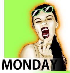 Monday Madness by Wansart