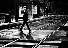 contre les rails by cahilus