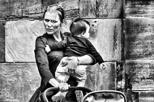 Mother and Son by cahilus