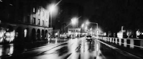 Rainy Night by cahilus