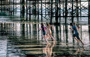 Jetee de Brighton by cahilus