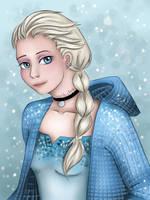 Modern Elsa by Stardust193