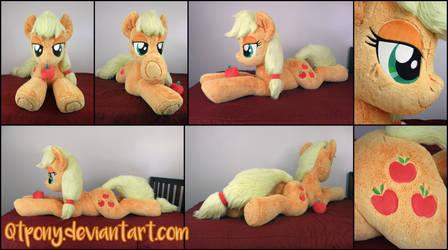 Lifesize 55inch Fluffy Applejack plush by qtpony