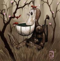 Birdbath by DanielKarlsson