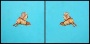 Chicken race by DanielKarlsson