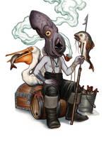 The Fisherman by DanielKarlsson