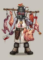 The Butcher by DanielKarlsson