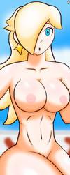 Mk Rosalina (nude) by rbghost