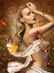 Mabon Goddess of Autumn by DesignbyKatt