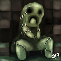 MineCraft Creeper by Da-Blue-Monkey