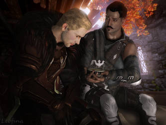 You have to eat something (Cullen x Dorian) by Leo-Fina