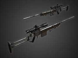 Rusty Sniper Rifle #2 by Kutejnikov