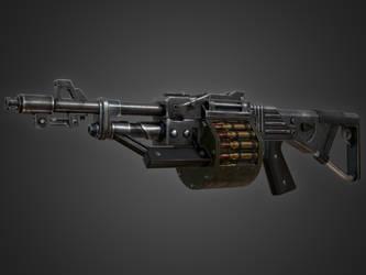 Machine Gun KWG-002 by Kutejnikov