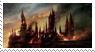 Hogwarts Burning by Tella-in-SA