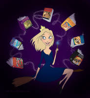 Rowling is our queen by Tella-in-SA
