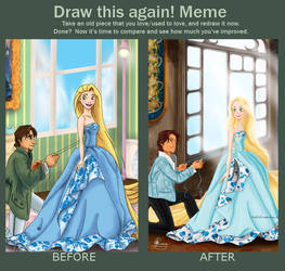 Tangled Draw This Again by Tella-in-SA
