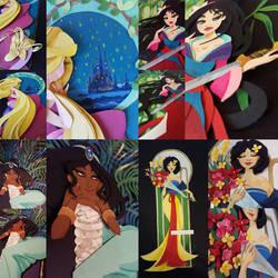 Paper princesses by Tella-in-SA