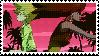 Michiko to Hatchin Stamp by WithTheLazersAndSuch