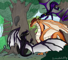 Thieves of the Forest (Contest Entry) by AuroratheIceWing