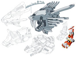 ZOIDS Practice by QuillCoil