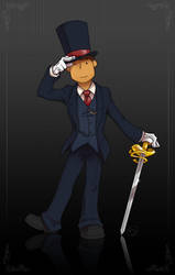The Magic Word is 3-Piece Suit by zillabean
