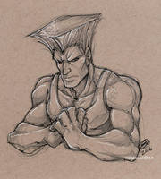 Sketchbook: Guile by zillabean