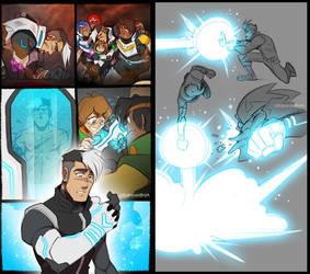 Give Shiro a badass Altean arm! by zillabean