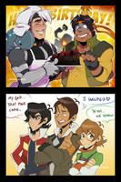 Happy Birthday Hunk! by zillabean