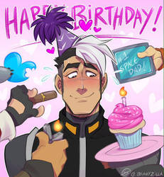 Happy Birthday, Josh! by zillabean