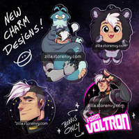 New Shiro Charms! by zillabean