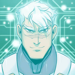 Let's Voltron 5th Anniversary | 2:14 | Atlas Shiro by zillabean