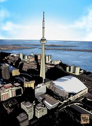 The City of Toronto by MistahMahvel