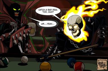 Spawn meets Ghostrider Complete by MistahMahvel