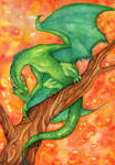 Dragon by Alexsiel