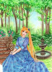 Princess Serenity by Alexsiel