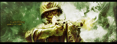 Call of Duty World at War Sig by Str3ss