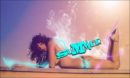 Summer-Girl Artwork by Str3ss