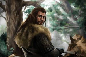Thorin by freaky-kayo