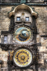 Prague Orloj by EllieFragile