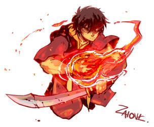 Avatar Zuko by zaionic